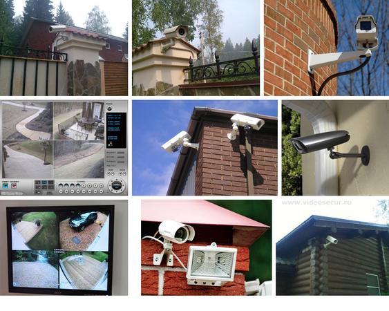 Видеонаблюдение для дома и дачи