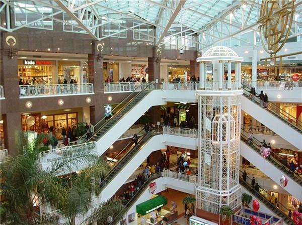 Видеонаблюдение в торговом центре