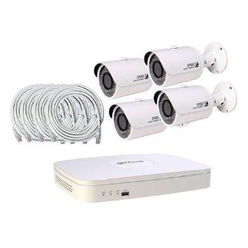 Комплект IP-видеонаблюдения 4камеры