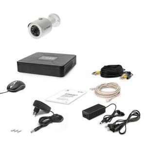 Комплект проводного видеонаблюдения Tecsar 1OUT
