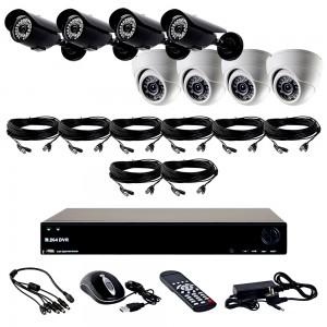 Комплект видеонаблюдения HDCVI 8камер