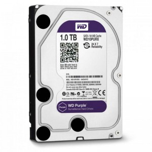 Жесткий диск 3.5 1Tb Western Digital Purple