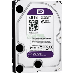 Жесткий диск 3.5 3Tb Western Digital Purple