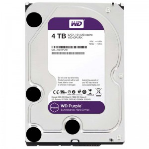Жесткий диск 3.5 4Tb Western Digital Purple
