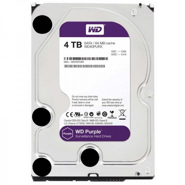 Жесткий диск 3.5 4Tb Western Digital Purple