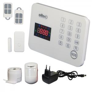 Комплект бecпpoвoдной cигнaлизaции Oltec GSM KIT-T